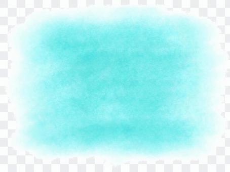 배경 소재 수채화 하늘색