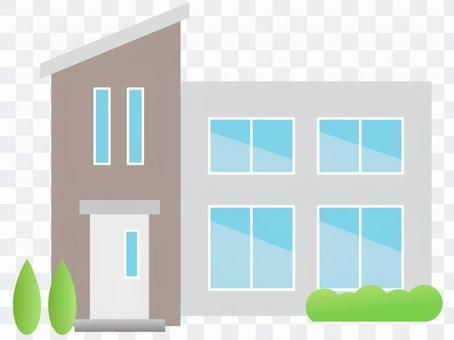 70111. Residential home, modern