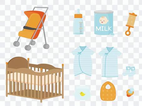 各種嬰兒用品
