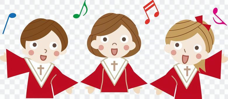 聖誕節資料18(兒童合唱團)