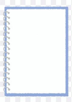 環 notebook_blue 手繪插圖