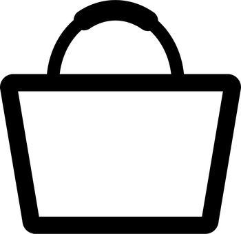 White bag icon