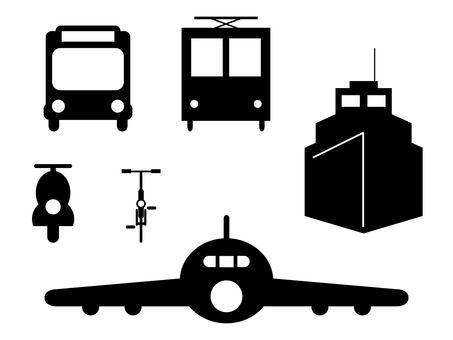 巴士 船 火車 Bike 自行車 飛機