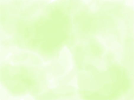 수채화 풍의 그린 소재 연두색