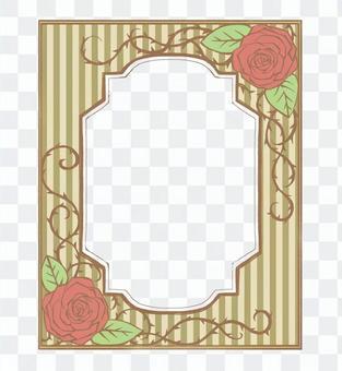 Book Roses Frame 02