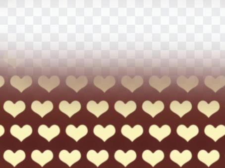 心一半黃色
