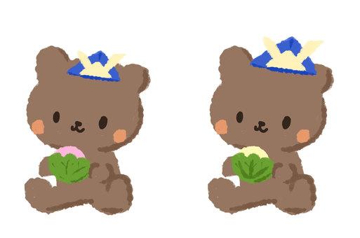發現熊之間的區別