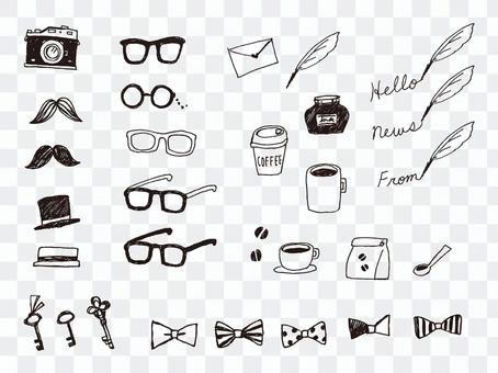 手寫時尚的主題