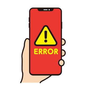 Smartphone error