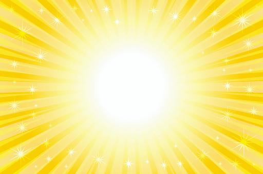 閃閃發光的輻射框架