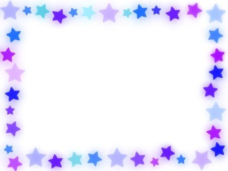 明星多彩幀藍色色調