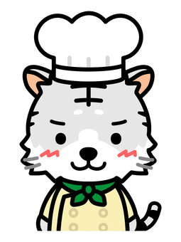 白虎廚師上身