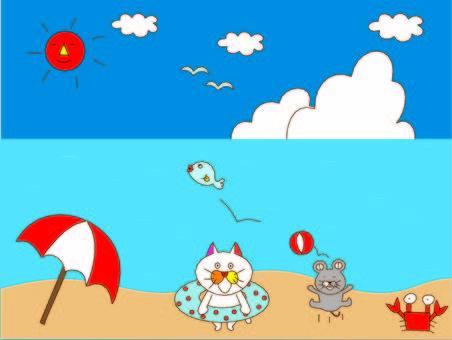 貓玉子和老鼠的夏天