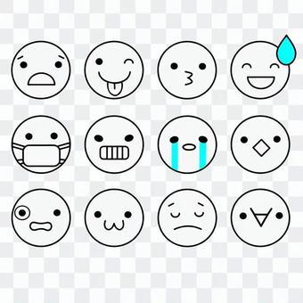 表情アイコン2