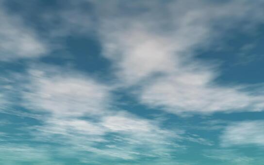 天空和雲彩1