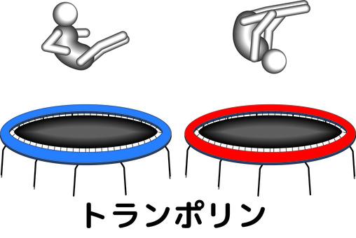 蹦床障礙迴旋比賽