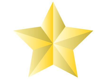 Three-dimensional (3D) star object