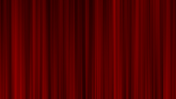 Red stage curtain / curtain Full HD