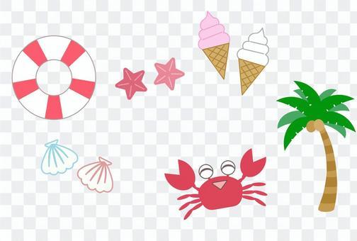 Summer item set