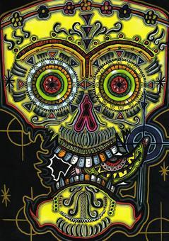 墨西哥頭骨