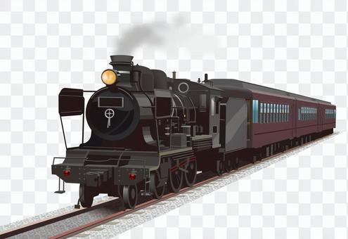 機関車 SL イラスト