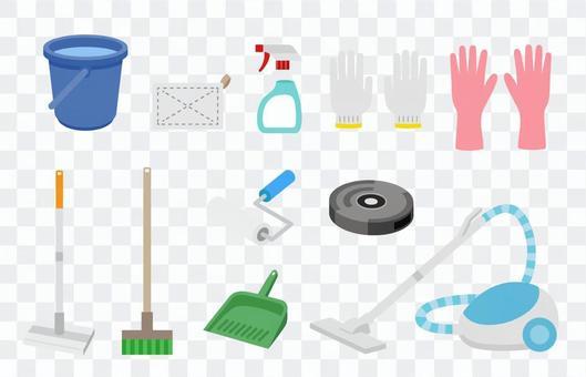 掃除用具のセット