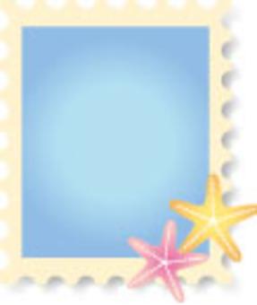 Stamp starfish