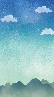 夜空の壁紙02