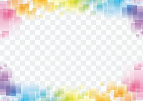 彩虹色背景07