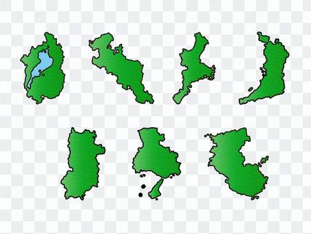 近畿地方セット