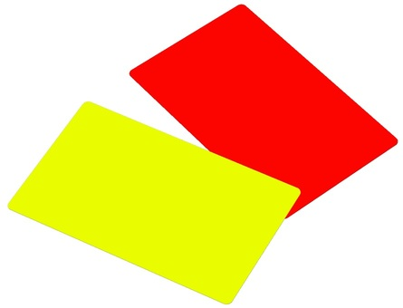 Yellow card red card