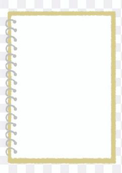 環 notebook_beige 的手繪插圖