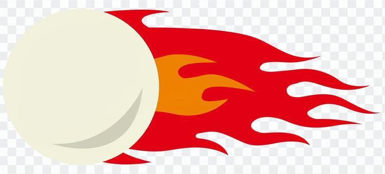 網球(火球)軟網球