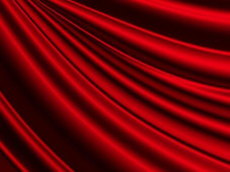 赤いサテンの背景素材