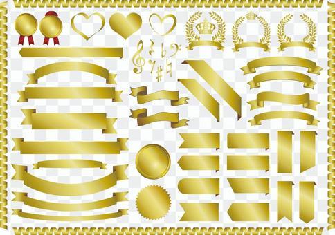 金冠月桂樹框架裝飾框架裝飾