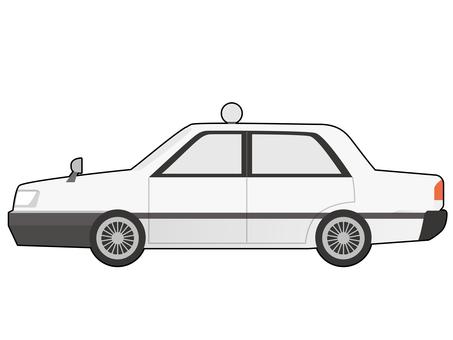 汽車插圖出租車 A