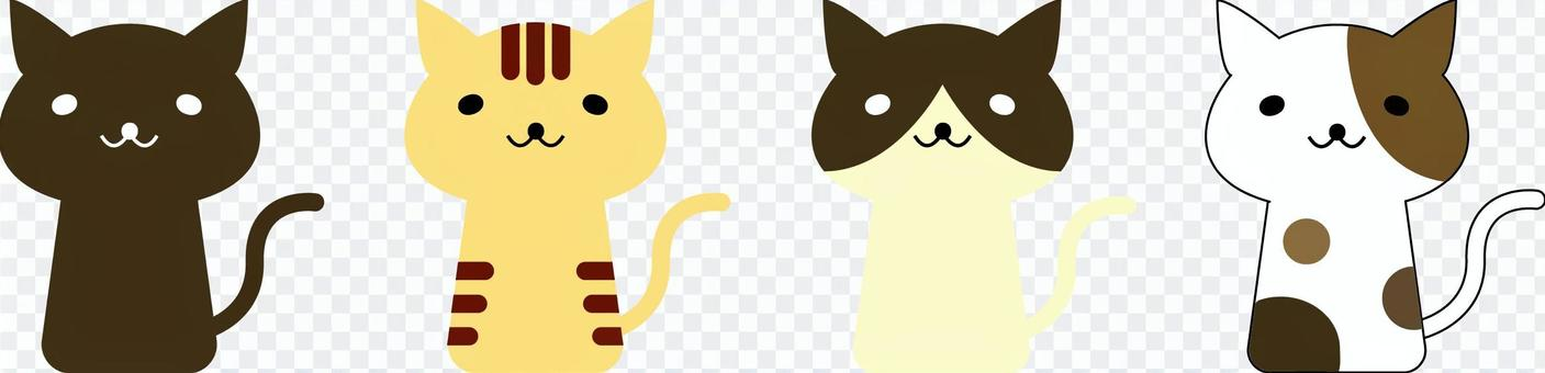 貓(彩色)