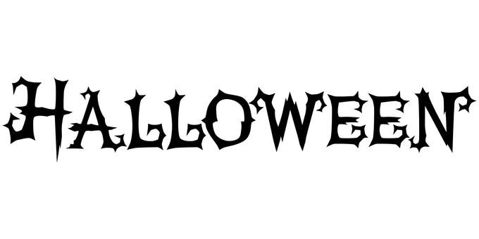 Typography Halloween alignment
