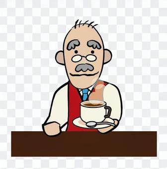Coffee shop master · hot coffee