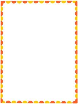 維生素顏色簡單的框架