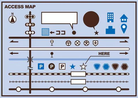 Map production material
