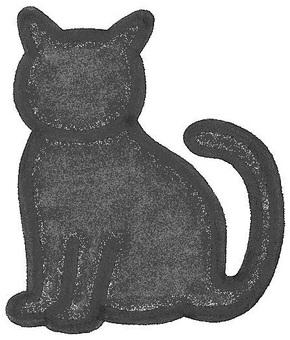 貓貓剪影貓