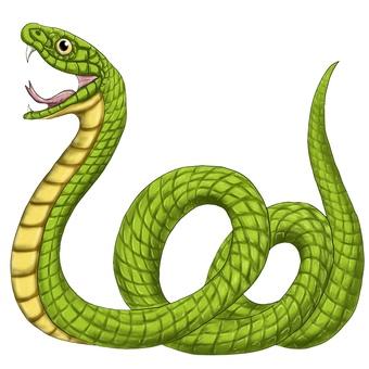 旁邊有蛇或大蛇
