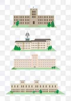 Overseas building building