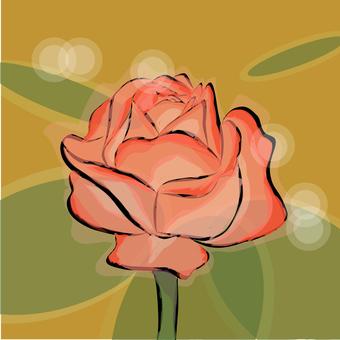 玫瑰圖標玫瑰玫瑰情緒花