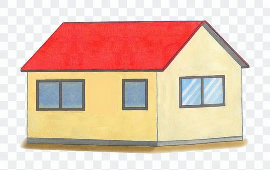 紅屋頂的房子
