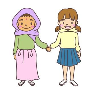 Kids international exchange