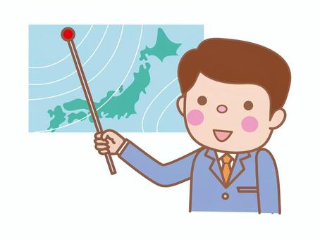 Weather forecaster (male)
