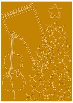 Background: Piano, Cello, Christmas Tree