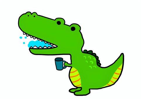 Gargle crocodile